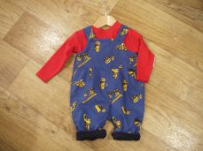 Seesaw Reversible Digger Dungaree And Top