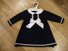Pex Winter Navy Knitted Dorothy Dress