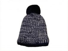 Pex Boys Tom Knitted Hat Navy