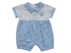 Kris X Kids Boys Summer Romper Time to Fish 6054