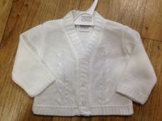 Pex White Emile Boys Cardigan