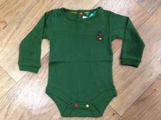Little Green Radicals Woodland Pointelle Baby Body