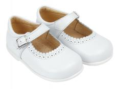 Early Days White First Walker Shoe Alice