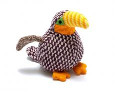 Best Years Knitted Mini Benjie Toucan Rattle