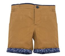 Little Lord & Lady Little Treasure Luca Tobacco Shorts