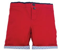Little Lord & Lady Earnest Red Shorts