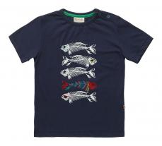 Piccalilly Skeleton Fish T-shirt