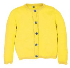 Little Lord & Lady Grace Yellow Cardigan