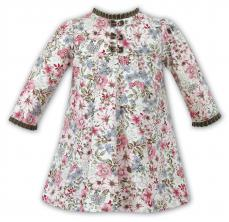 Sarah Louise Winter Floral Spanish Dress 011002