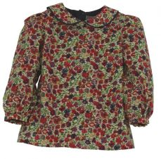 Little Lord & Lady Little Treasure Betsy Vintage Floral Blouse