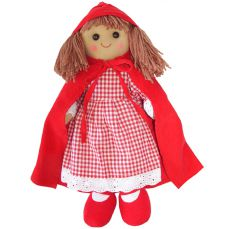 Powell Craft Rag Doll Little Red Riding Hood