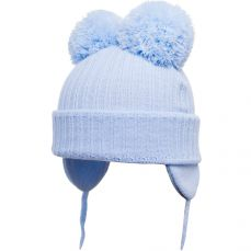 Satila Double Pom-pom Hat Minnie Light Blue