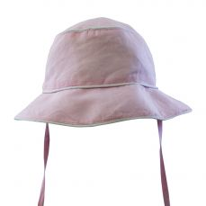 Powell Craft Pink Linen Hat