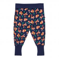 Piccalilly Fox Print Pull Up Trousers