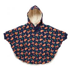 Piccalilly Fox Print Poncho