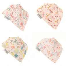 Ziggle Baby Bandana Dribble Bib 4 Pack Pattern Boutique
