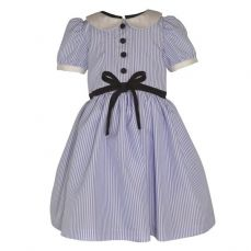 Little Lord & Lady Little Treasure Lucinda Tricking Stripe Dress