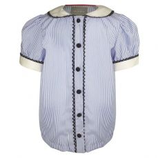 Little Lord & Lady Lucinda Ticking Stripe Blouse