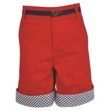 Little Lord & Lady Little Treasure Rupert Red Shorts