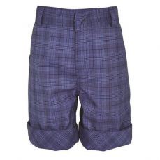 Little Lord & Lady Little Treasure Edward Blue Check Shorts