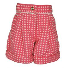 Little Lord & Lady Little Treasure Grace Fuchsia Spot Shorts