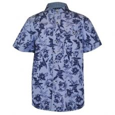 Little Lord & Lady Little Treasure Henry Floral Grandad Shirt