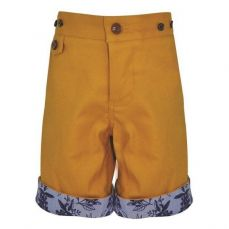 Little Lord & Lady Little Treasure Oliver Mustard Shorts