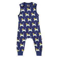 Piccalilly Hello Tiger Dungarees