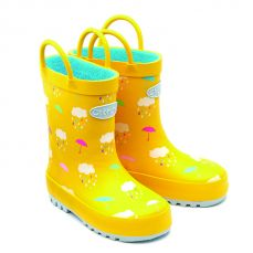 Chipmunks Rain Wellington Boot Yellow