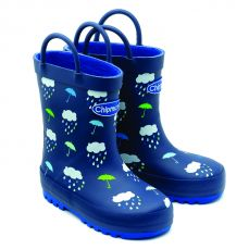 Chipmunks Rain Wellington Boot Navy