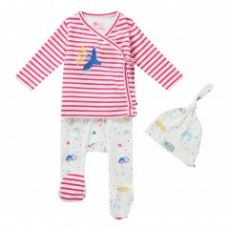 Piccalilly Rainforest 3 Piece Baby Set