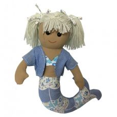 Powell Craft Rag Doll Mermaid