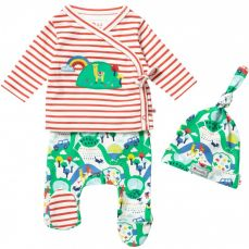 Piccalilly Malham Farm 3 Piece Baby Set