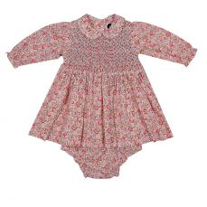 Question Everything Pearl Winter Baby Dress