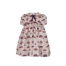 Little Lord & Lady Mary Unique Print Dress & Headband Short Sleeve