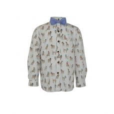 Little Lord & Lady Bertie Unique Print Shirt & Bowtie