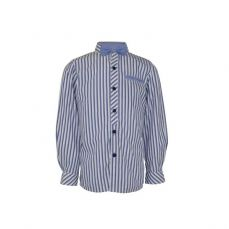 Little Lord & Lady Ludlow Striped Shirt & Bowtie