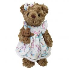 Powell Craft Teddy Bear With Unicorn Dress