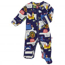 Piccalilly London Footed Sleepsuit