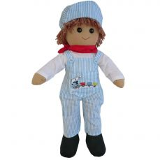Powell Craft Train Driver Rag Doll