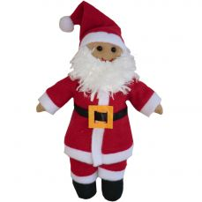 Powell Craft Father Christmas Rag Doll