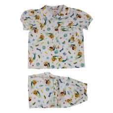 Powell Craft Mermaid Short Sleeved Pyjamas