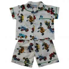 Powell Craft Tractor Shorts And Top Pyjama Set