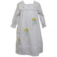 Powell Craft Avalon Mermaid Embroidered Nightdress