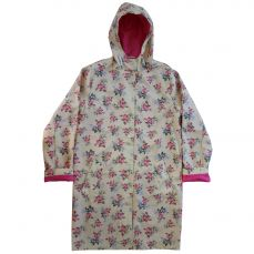 Powell Craft Ladies Rose Floral Raincoat