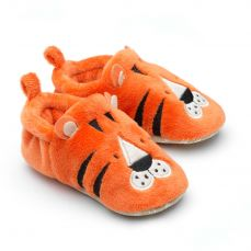 Chipmunks Tommy Tiger Baby Slippers