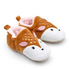 Chipmunks Rae Deer Baby Slippers