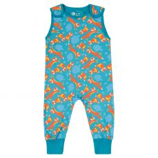 Piccalilly Foxes Dungarees