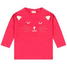 Piccalilly Little Kitten Raglan Top