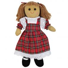 Powell Craft Rag Doll Red Tartan